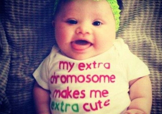 A plusz egy kromoszómám még cukibbá tesz!