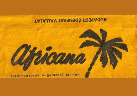 Az Africana csoki nugátszerű ízét máig a szánkban érezzük.