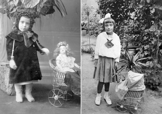 A babakocsi évszázadok alatt sem veszített semmit az értékéből, a kislányok manapság is imádják tologatni.