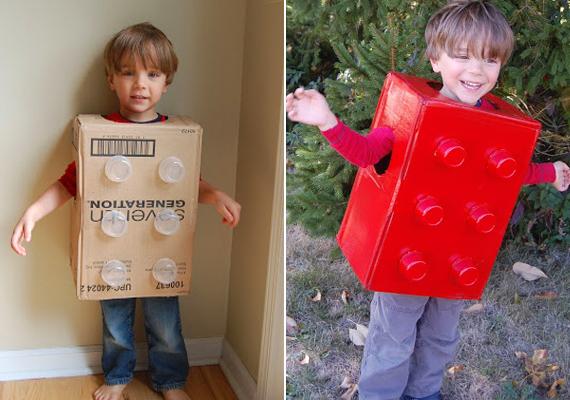 Ehhez a hihetetlenül ötletes legójelmezhez nem kell más, csak egy doboz, pár műanyag pohár és némi festék. Így készítheted el a gyerkőcödnek.