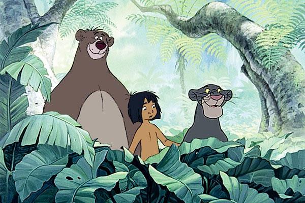 A dzsungel könyve tipikus Disney-produkció, gonosszal és boldog véggel. A rajzfilmet 1967-ben mutatták be először.