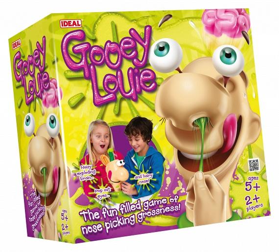 A zöld trutyi, ami a játék orrából jön, ugyancsak nem tartozik az ízléses dolgok közé.