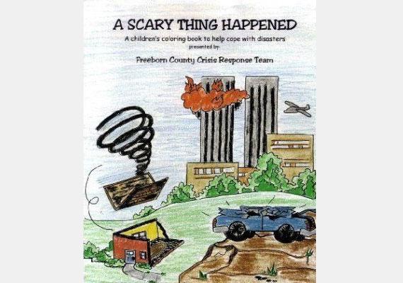 A 2001. szeptember 11. apropóján készült színező az eseményhez kapcsolódó traumák feldolgozását volt hivatott segíteni. Már ha nem generált újabbakat.