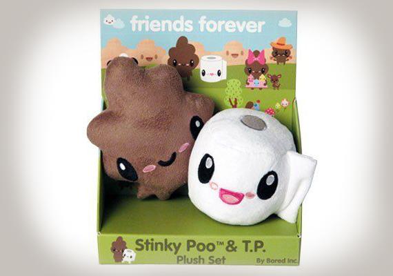 Igazán eredeti ötlet: a büdi kis barnaság és a WC-papír örök barátok.