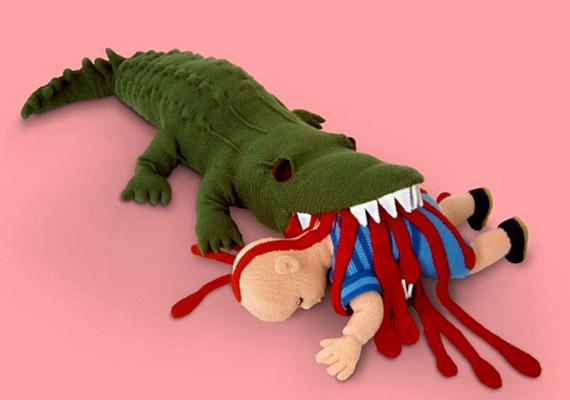 Nem baj, ha a gyerek időben megtanulja, hogy a krokodil nem játék, de biztos, hogy ez a legjobb módja?