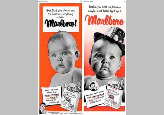 Hű, apa, te mindig mindenből a legjobbat szerzed be - így a Marlborót is!Mielőtt megszidnál, anya, szívj el egy Marlborót!