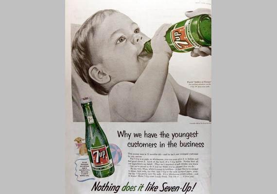 Miért nekünk vannak a legfiatalabb vásárlóink? Mert semmi sem fogható a Seven Uphoz!.