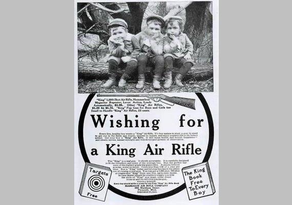 King Air Riffle puskára vágynak...