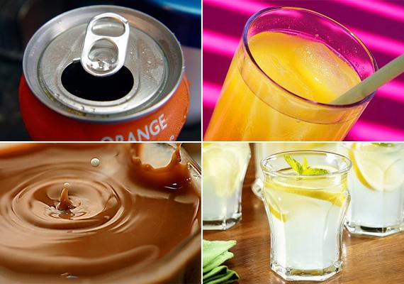 Káros italok                         Nemcsak az ételekkel, de az italokkal is érdemes vigyázni. A kólát például jobb meg sem kóstoltatni a gyerekkel, hogy ne szeresse meg az ízét. Nem egészséges, és nemcsak cukortartalma miatt - igaz, a gyümölcslevek is dúskálnak benne, így az se tévesszen meg senkit, hogy azok dobozán csalogató gyümölcsök vannak. Az otthon készített kakaót, teát és limonádét sem jó agyoncukrozni, így ugyanis azok is káros italokká válnak, így megadva a kezdő lökést a cukorbetegség felé.