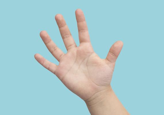 A rövid hüvelykujj a reál irányultságról árulkodik, gyermeked tehetséges lehet a matematikában.