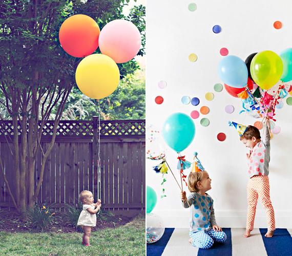 A gyerekek szülinapján biztos te is készítesz fotót a kicsikről. Ha szeretnéd a fotókat látványosabbá tenni, akkor csak adj a kezükbe pár lufit, és máris sokkal emlékezetesebb portrét készíthetsz róluk.