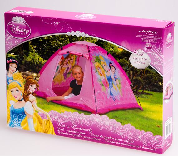A kislányok a szabad levegőn is kuckózhatnak ezzel a hercegnői sátorral.A rózsaszín Disney Hercegnők sátort az AsiaCenterben tudod megvásárolni 7199 forintért.