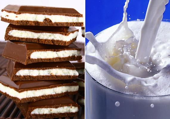 A tejszeletek elsőre egészségesnek tűnnek, ám valójában cukorban gazdag édességről van szó, amellyel nem helyettesíthető a tej, bármit is mondjanak a reklámok.