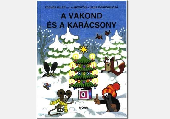 Zdenek Miler: A vakond és a karácsony(Móra)A kisvakond nem hiányozhat a sorból, ezúttal egy kedves karácsonyi történettel: a kedves mesefigura ünnepélyt rendez az állatoknak. Ára: 2499 forint.
