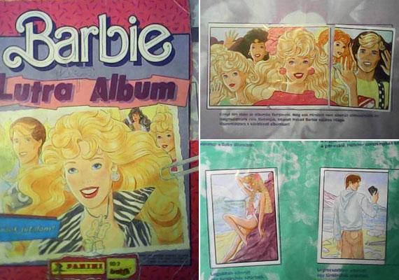 A barbis Lutra albumokba matricákat kellett ragasztani, de sohasem tudhatta az ember, milyeneket talál a külön kapható kis tasakokban.