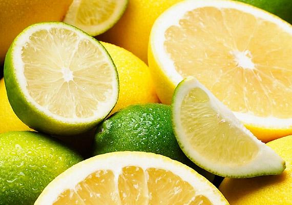 Ne feledkezz meg a C-vitaminról sem, melyet citromból, almából nyerhetsz.