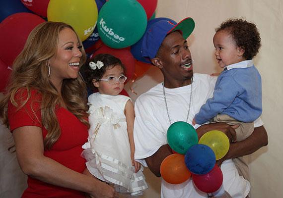A Mariah Carey-Nick Cannon páros a lányát Monroe-nak keresztelte - Marilyn Monroe után -, fiuk pedig Moroccan lett - neve a Marokkói lakosztályra utal, ahol a híres szülők eljegyezték egymást.