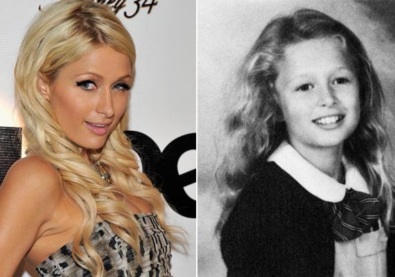 Paris Hilton már kislányként is tudatában volt annak, hogy nem sok anyagi problémája lesz az életben, ezért már akkor is magabiztosan pózolt a fotósok kamerája előtt.