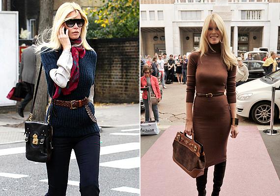 2010-ben, 39 évesen adott életet harmadik gyermekének Claudia Schiffer, aki visszavonult modellként is bármikor felvehetné a versenyt a kifutók legújabb üdvöskéivel. Ezek a képek terhessége után alig fél évvel készültek róla.