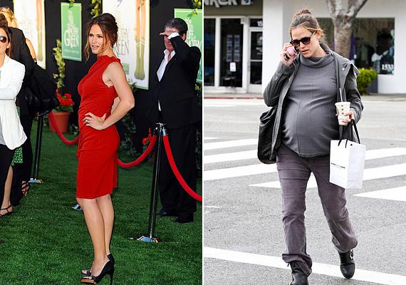 2012 februárjában adott életet harmadik gyermekének Jennifer Garner, nyáron pedig már ebben a dögös vörös ruhában fotózták. A 40 éves színésznő elég aktív életet él, az Alias ötödik szezonjában például úgy ment el szülési szabadságra, hogy az évad epizódszámát öttel csökkentették, de így is 17 forgatáson vett részt. Örökmozgó nő hírében áll, aki szeret kirándulni, kertészkedni, kickboxolni, így nem véletlen, hogy minden terhessége után hamar visszanyerte formáját.