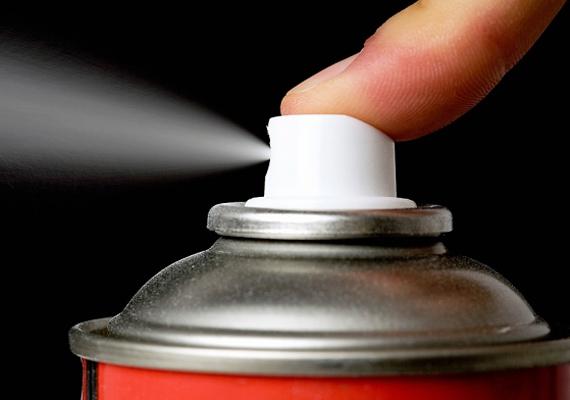 Kerüld az aerosolos spray-ket, mert nemcsak a környezetet, hanem a kicsi egészségét is károsítják.