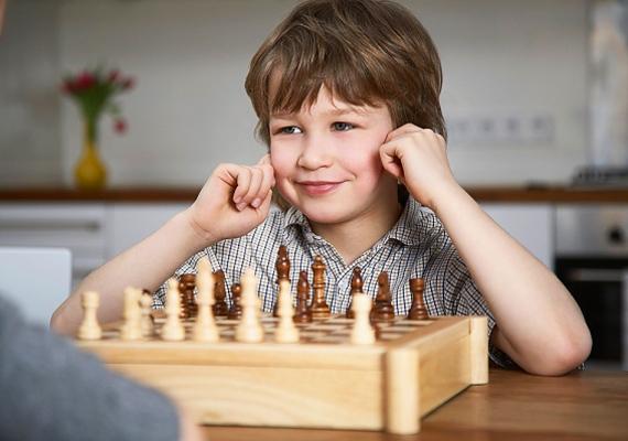 A sakk ugyan a kicsit idősebbeknek szól, mégis az egyik legjobb intelligenciafejlesztő, hiszen összetett gondolkodásmódra tanítja a gyerkőcöt.