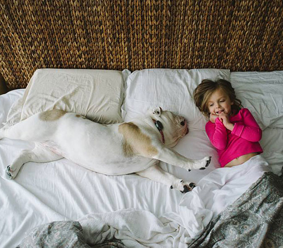 ...és együtt is alszanak.