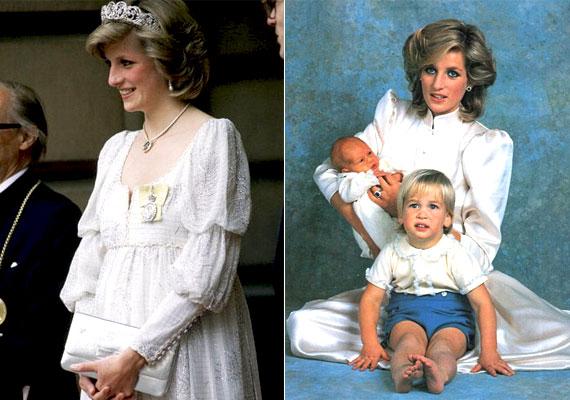 Diana egy évvel a kis Vilmos születése után ismét várandós lett, de a Buchingham-palota hivatalosan kiadott közleménye után egy héttel elvetélt. Néhány hónappal később azonban újabb örömhírt közölt Diana a világgal, a kis Harryt hordta szíve alatt, aki 1984. szeptember 15-én különösebb komplikációk nélkül megszületett.
