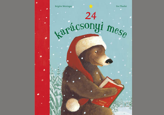 Brigitte Weninger: 24 karácsonyi mese                         Igazi karácsonyi hangulatú mesekönyv 24 szép klasszikus és mai mesével, melyek a csodavárásról és a beteljesülésről szólnak. A történetekkel Szabó T. Anna kitűnő fordításában ismerkedhettek meg. Ára: 3990 forint. 2-6 éveseknek ajánljuk. Itt találsz róla több információt.