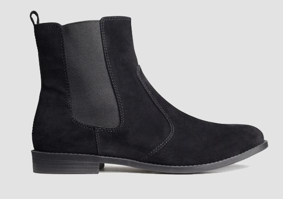 Inkább a feketére szavazol? A H&M stílusos bokacsizmája 8990 forintért a tiéd lehet.