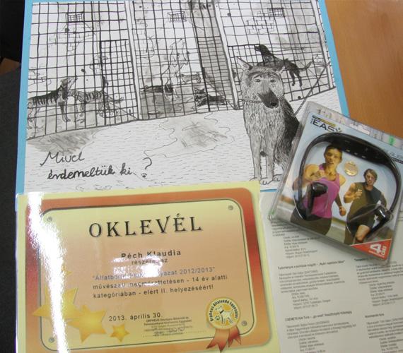 Péch Klaudia, Győr, a plakát címe: Mivel érdemeltük ki?
