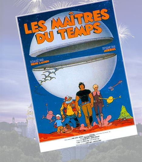 Az idő urai - 1982A francia sci-fi mese sokak számára kultikus darab, ami a Walt Disney stílusában rajzolt karaktereket egészen újszerű közegbe helyezi. A Perdide bolygó világa távol áll a klasszikus tündérmeséktől, mégis legalább ugyanannyira gyönyörű és mesés.