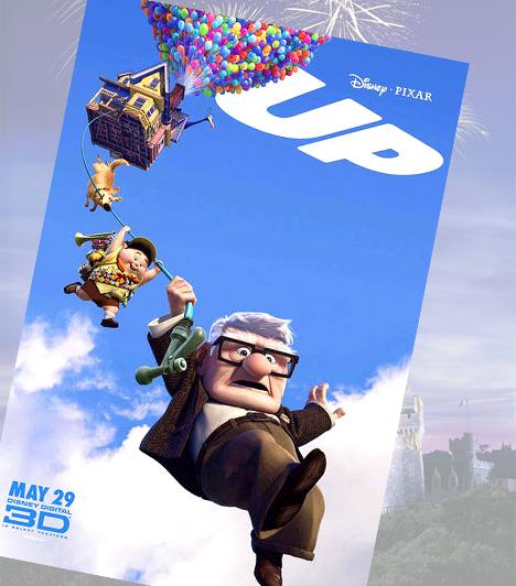 Fel! - 2009A Fel! pillanatok alatt helyet érdemelt a legjobb mesefilmek listáján. Az animációs film bájos humora mellett megható is, története pedig, az emberi szeretetről és az álmok erejéről, örökérvényű.