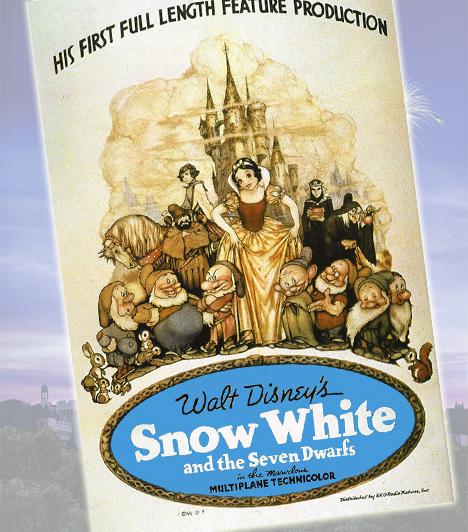 Hófehérke és a hét törpe - 1937Minden idők első egész estés rajzfilmje Walt Disney stúdiójából került ki. A mese nagy öregje álmodta meg az egyik legszebb mesehőst, akit a törpék próbálnak megmenteni a gonosz mostoha bosszújától.Kapcsolódó cikk:A 10 legjobb animációs film 2010-ben »