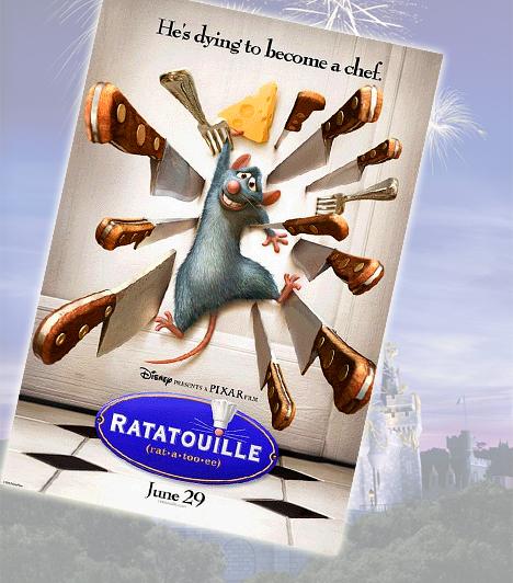 L'ecsó - 2007A patkány, aki séf akar lenni, természetesen nem számíthat barátságos fogadtatásra az étteremekben, de a családja sem fogadta kitörő örömmel terveit. Remy azonban nem hátrált meg, így egészen a toplistás Disney karakterek közé küzdötte fel magát.