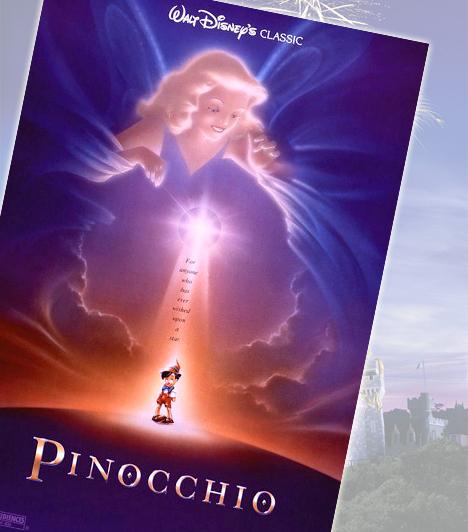 Pinokkió - 1940Gepetto, a fafaragó mindig is vágyott egy kisfiúra. Egy nap faragott babájába életet lehet egy tündér, Pinokkió azonban többre vágyik: igazi kisfiú szeretne lenni. A mese mindenkihez szól, aki valaha hitt a tündérekben.