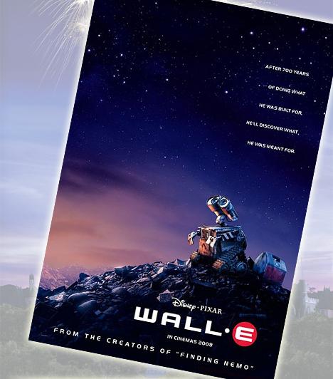 Wall-E - 2008A kis robot története az első egész estés mese, ami egyetlen szó nélkül ejti rabul az embert. Bár a megható történet főként felnőttmese, a szeméttel telített Föld életéért küzdő Wall-E a gyerekek szívébe is pillanatok alatt belopta magát.Kapcsolódó cikk:Az 5 legjobb vígjáték - Szerintünk »