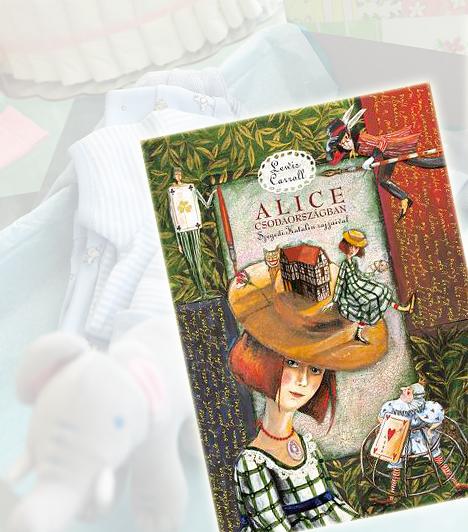 Lewis Carroll: Alice CsodaországbanLewis Caroll klasszikus meséje nem hiányozhat egyetlen mesegyűjteményből sem. A Szegedi Katalalin illusztrációival készült kötet igazán különleges, hiszen legalább annyira gazdag vizuális élményt nyújt, mint amilyen élvezetes a mese. Alice szimbolikus történetéből felnőttekés gyerekek egyaránt tanulhatnak.