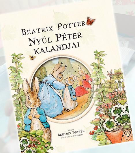 Beatrice Potter: Nyúl Péter kalandjaiBeatrice Potter olyan korban élt, amikor a nőknek a konyhában, és nem az íróasztal mögött volt a helye. Az ő képzeletét a háziasszonyi teendők helyett mégis csodálatos gyerekmesék népesítették be már egészen fiatalon. Ezeket papírra is vetette, és saját rajzaival illusztrálva. Nyúl Péter, a kóbor nyuszi Potter első hőse volt, akit még sok állatfigura, és mese követett.