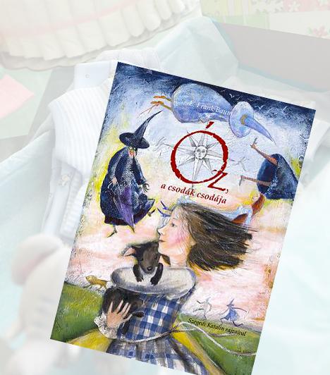 L. Frank Baum: Óz, a csodák csodájaA gyönyörűen illusztrált mesekönyv 2009-ben elnyerte a Fitz József díjat. L. Frank Baum örökérvényű meséje a csodavilágba csöppent Dorkáról szól, aki nem akar mást, csak hazajutni, mégis a rejtélyes Varázsló, és a gonosz Nyugati Boszorkány útjába kerül. Barátai, a Bádogember, a Gyáva Oroszlán és a Madárijesztő azonban mindent megtesznek, hogy hazaérhessen.