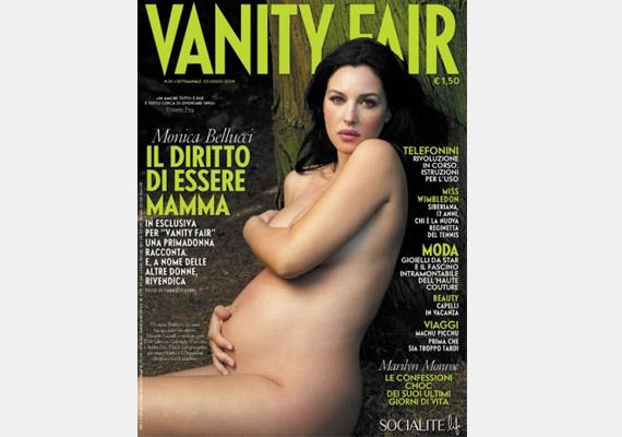 A gyönyörű Monica Bellucci a Vanity Fair címlapján pózolt.