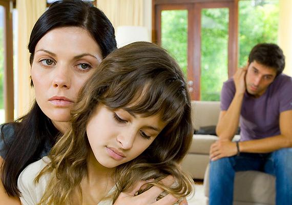 A megoldatlan családi feszültségeket minden kisgyerek megérzi.