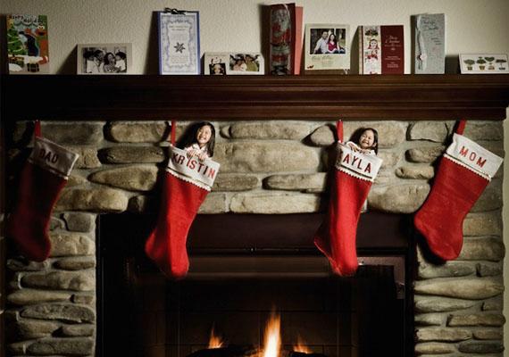 Karácsonyi témájú kép is született.