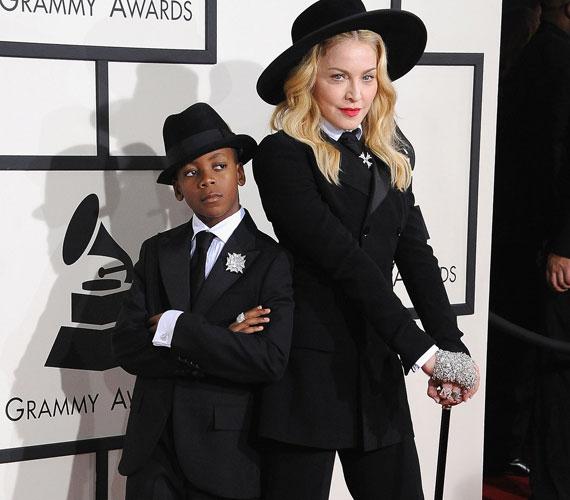 Madonna és David a tavaly Grammy-díjátadóra vettek fel ugyanolyan összeállítást.