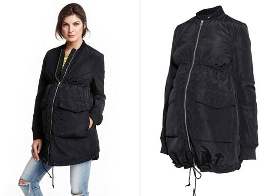 Ha kedveled a sportos kabátokat, ez a bomberkabát a te kedvenced lehet. Nagy zsebe divatos és egyben praktikus is. Csak feketében kapható.H&M, 14 990 forint.