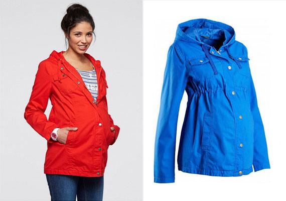Ez a gyönyörű színekben elérhető kabát derékban behúzható, ami kiemeli nőiességed, a zsebek és a kapucni pedig praktikussá teszik viseletét.Bon Prix, 8499 forint.