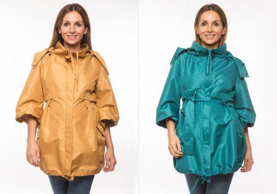 Divatos árnyalatok, egyedi szabás - ez az esőbiztos kabát igazi főnyeremény őszre. A derékrészen öv viselhető, ami még nőiesebbé varázsolja viselőjét.Hello Baby Collection, 17 990 forint.