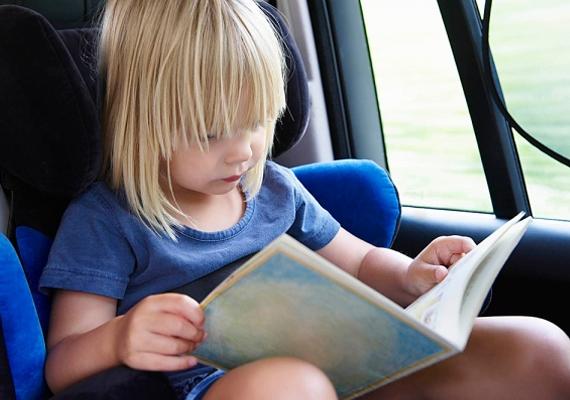Ha autóval utaztok, és a gyerek allergiás, húzzátok fel az ablakokat, hogy az útszéli parlagfű pollenjei ne irritálják.