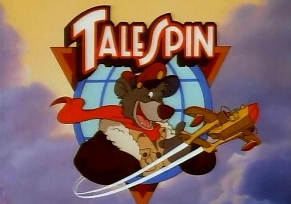 """Balu kapitány""""Hova repül a masina, vezeti a medve, belekeveredik Balu a veszedelembe. Ha-ha-ha, talespin"""" helyett:""""ha-ha-ha, ezt kapd ki"""" - értette Andi."""