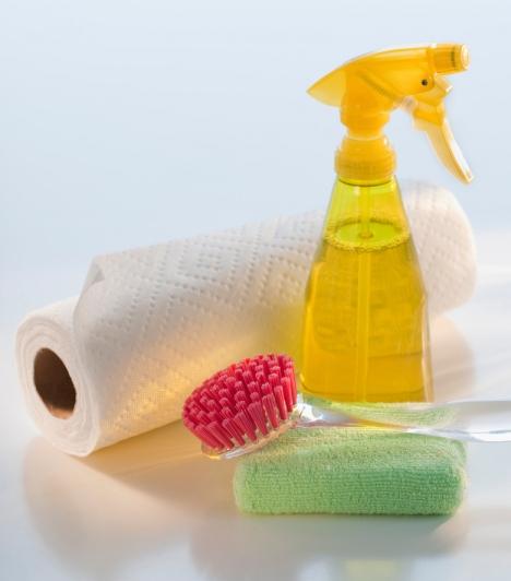 Tisztítószerek  A tisztítószerek agresszív vegyszerek, amelyeket, ha nem elővigyázatosan, vagy túl nagy mennyiségben használsz, rákkeltőek lehetnek. Válaszd inkább a természetes szereket, mint az ecet!